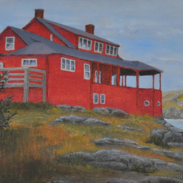 Red House, Monhegan