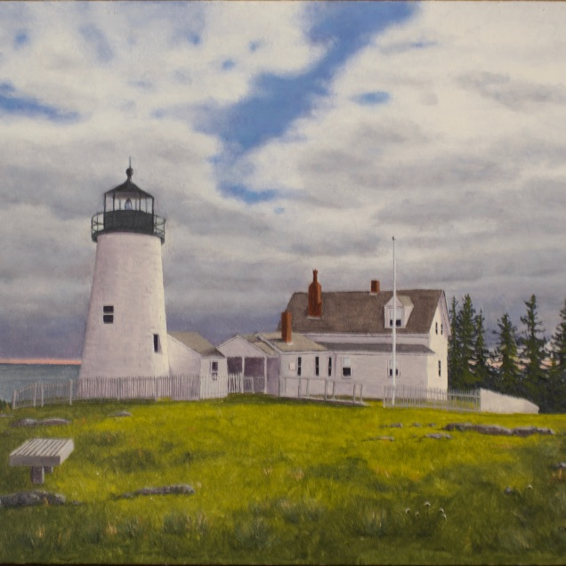 Break in the Clouds - Pemaquid Light
