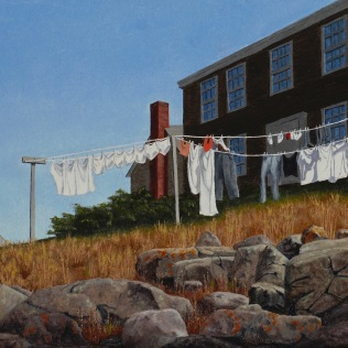 Drying Day at the Influence - Monhegan
