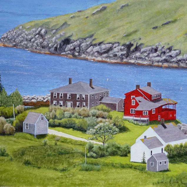 Crow's Eye View - Monhegan Village