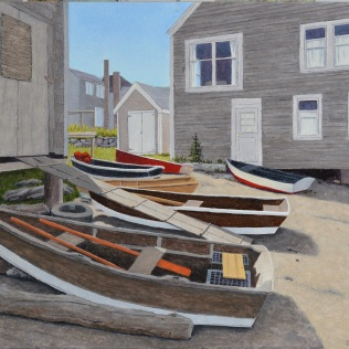 Seven Dories - Fish Beach